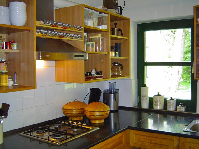 Villa p le - Ingerichte keuken ...